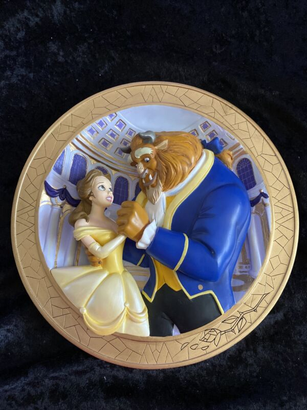 Disney Beauty & The Beast 3D Plate-Tale As Old As Time- LE 1500/5000