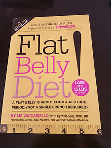 Flat Belly Diet Book Published 2008 Wellington Point Redland Area Preview
