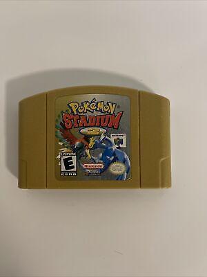 Pokemon Stadium 2 (Nintendo 64 N64) - Authentic Nintendo Cartridge