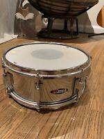 LAST CHANCE!  Vintage 1960's Chrome Pearl Snare Drum (Complete)