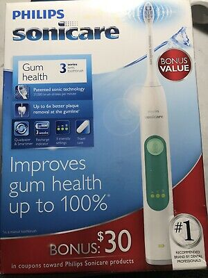 Philips Sonicare 3 Series Gum Health Electric Rechargeable  [ See Pictures]