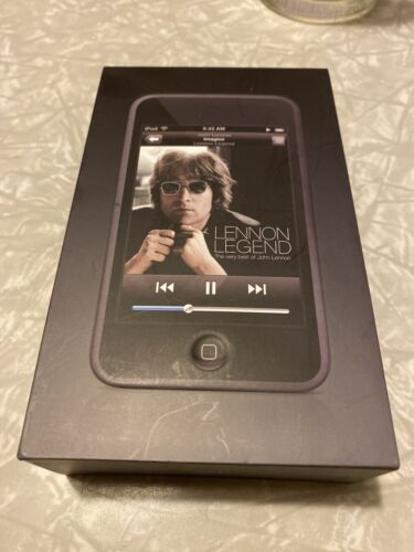 Empty Apple iPod Touch 1st Gen. 16gb BOX, CLEAR COVER, PAPERS ONLY Lennon Legend