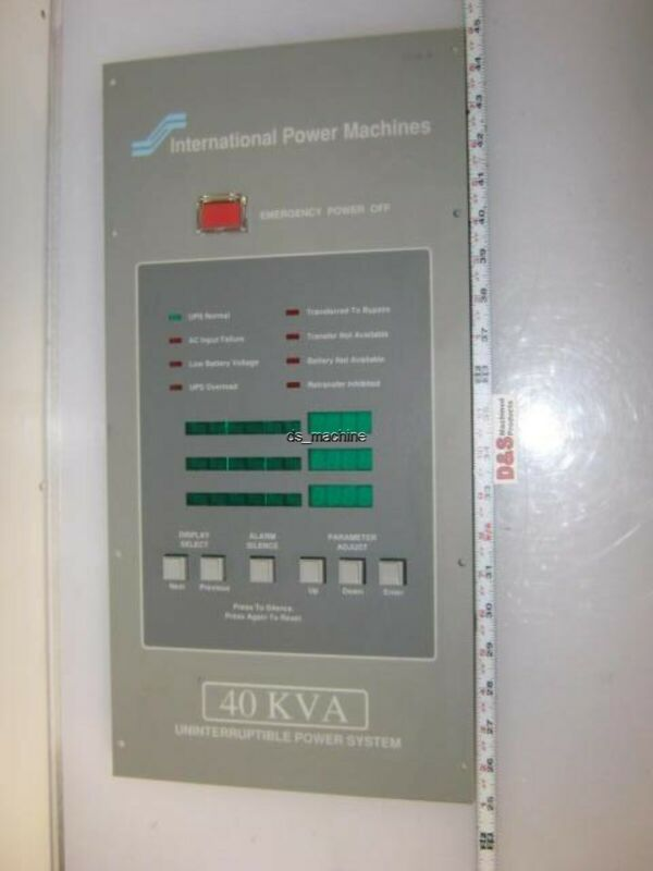 International Power Machines 951-016-A001-9 950-025-D059-1 Control Panel