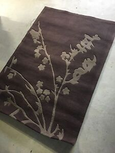 Brown rug with beige tree print Hillarys Joondalup Area Preview