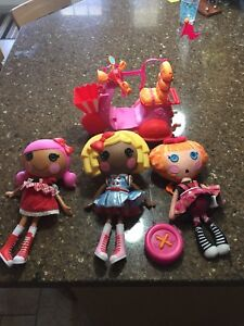 Lalaloopsy doll lot