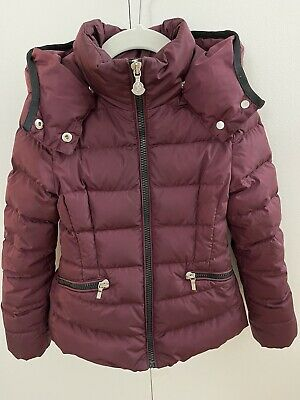 Moncler Girls Saby Jacket Size 6 Authentic