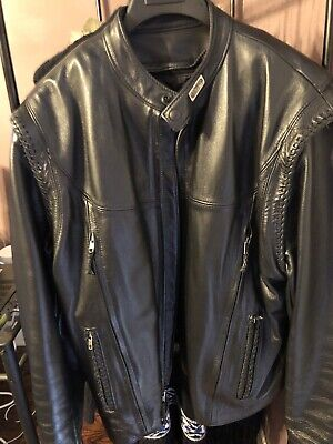 Willie G Harley Davidson Leather Jacket Sz XL