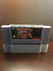 Donkey Kong Country. Snes Super Nintendo.