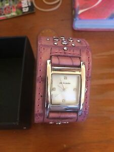 Pink stoned Pierre Cardin watch ( quick sale) Mount Keira Wollongong Area Preview