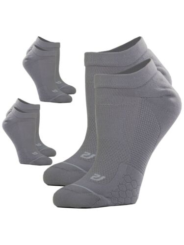R-Gear Super Performance Thin Cushion LOW CUT Socks 3 pack Road Runner Size M