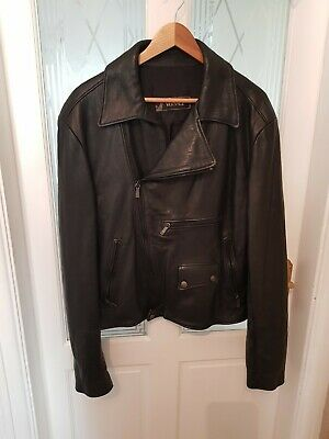 Mens versace leather jacket vintage