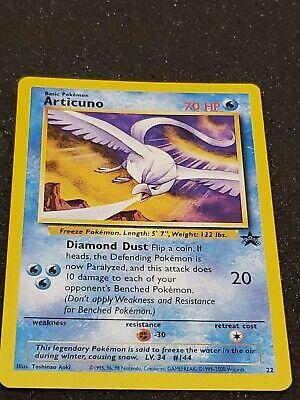 Legendary Bird Black Star Promo EX//NM Articuno #22 Pokemon Card
