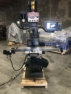 Acurite Cnc Webb Knee Mill 3 Axis Loaded