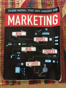 Marketing: Real People Real Choices - 4th ed