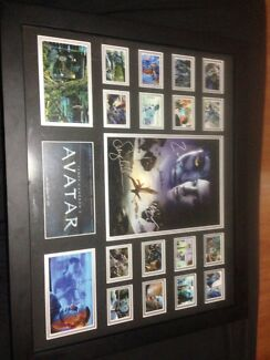 Avatar framed signed memorabilia