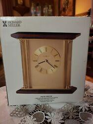 Howard Miller Rosewood High Gloss Carlton 645-391 Quartz Table Clock~NEW IN BOX!