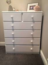 Painted timber set of drawers Epping Ryde Area Preview
