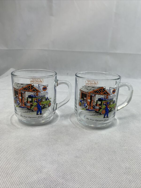 """The Gulf Oil Company collector series """"THE GREAT DEPRESSION YEARS"""" Cup/mug"""