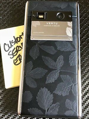 Open Vertu ASTER Leaf Limited ED Super RARE Brand NEW in BOX A Gotta Have!