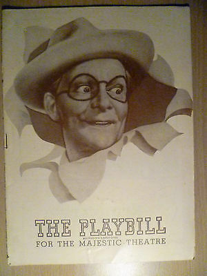 1945 PlayBill Majestic Theatre Programme: MEXICAN HAYRIDE 14 January