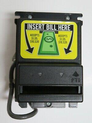 Pti Apex 5400 120v Usa 1-20 Dollar Stackerless Bill Acceptor Note Validator