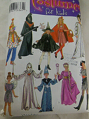 Easy Costumes For Kids (Simplicity 4860 Costumes for kids Pattern Assortment S M L All size EASY One)