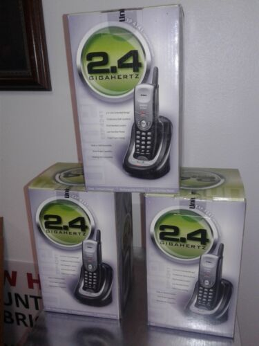 New Uniden EXP4240/4241 2.4 GHz With Handset - Black New - $35.00