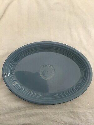 Hlc Fiestaware Periwinkle Blue Oval Platter Fiesta 13 Inc Serving Dish
