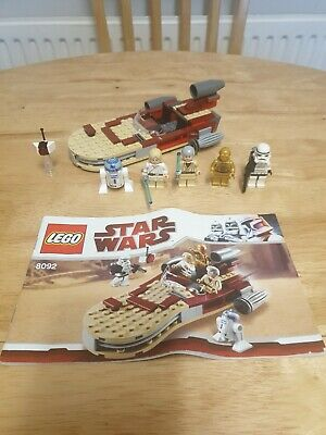 LEGO 8092 Star Wars Luke's Landspeeder Set