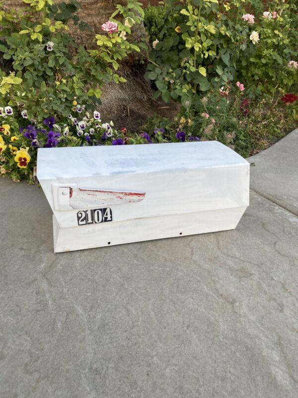 Mid Century Vintage Mailbox Mail Box  - Postbox  rare Find