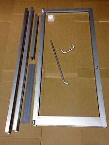 Commercial aluminum door ebay for Commercial aluminum storefront door