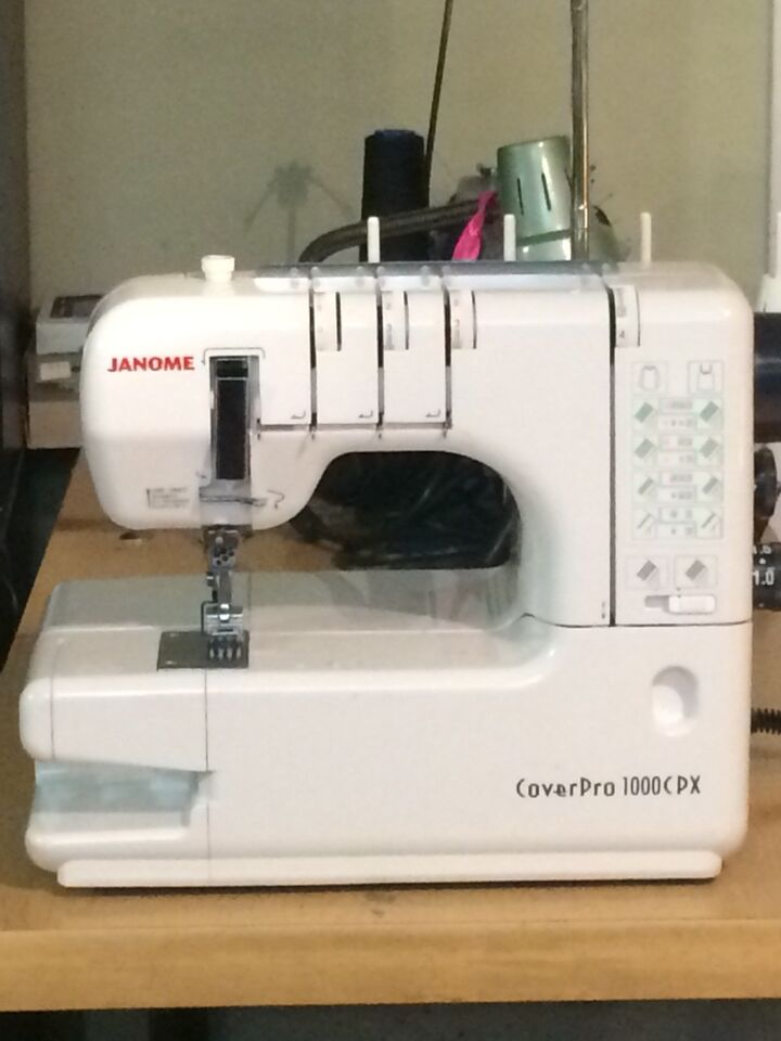 Janome CoverPro 1000cpx sewing machine | Hobbies & Crafts | Bedford ...