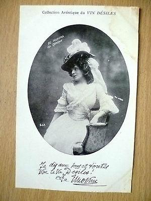Postcards of Edwardian Theatre & Opera Stars: DE. NUOVINA OPERA, by Vin Desiles