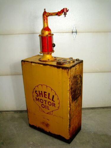 Shell Vintage Lubester, Oil Pump, Wayne, Sign, CLEAN and CLEARED !!!