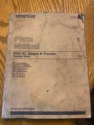 Caterpillar D5h Xl Series 2 Tractor Power Shift Parts Manual