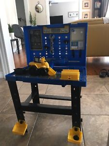 Just like home workshop tool bench