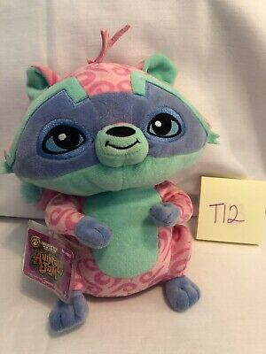 Animal Jam Loopy Raccoon 9-Inch Plush With Code For Online Game! New! T12 ()