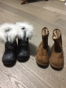 Winter boots and air walk boots