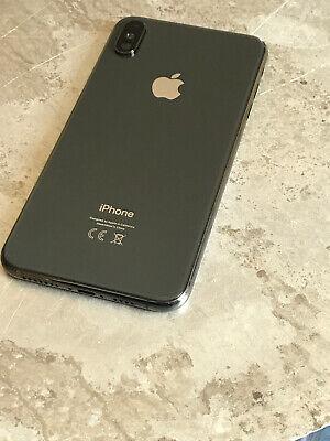Apple iPhone XS Max Schwarz Backcover,Rahmen,Gehäuse,Akkudeckel, Rückseite