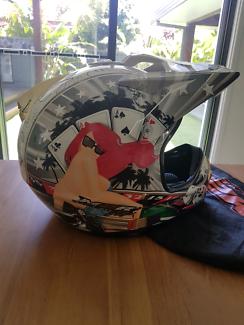 Moto cross helmet new M2R CUSTOM