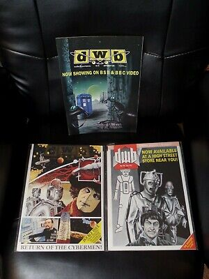 Doctor Who Bulletin Three Issue Lot #81, 97, and 101 — High Grade