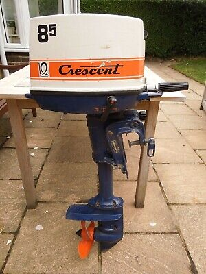 Used Crescent 8.5hp outboard engine,