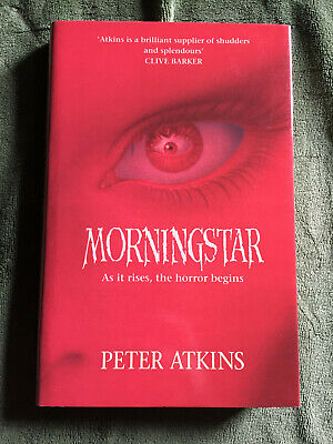 MORNINGSTAR by Peter Atkins hardcover edition Harper Collins 1992 VG