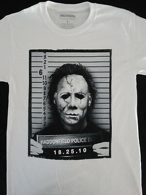 Halloween Mug Shots (Michael Myers Halloween Haddonfield Police Mug Shot Horror Movie)