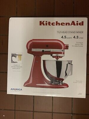 New Kitchenaid KSM96ER Ultra Power Plus 4.5qt Tilt-Head Stand Mixer - Empire Red