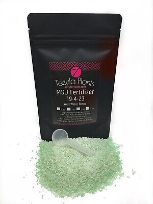 Orchids Blend (MSU Orchid Fertilizer 19-4-23 (Well Water Blend) - Premium Packaging with Scoop )