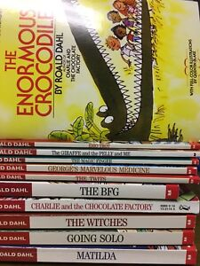 Roald Dahl Set of Books