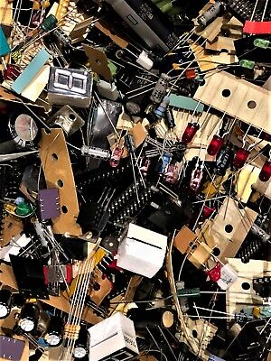 Lot 1 Lb Quality Grab Bag Of All Unused Electronic Parts Components Diy
