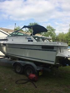 24 foot Doral boat with trailer