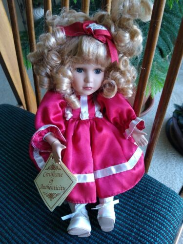 Collectors Choice Porcelain Musical Doll